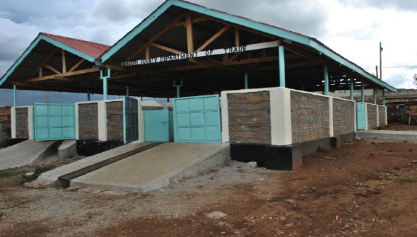 Masaba Modern Market – newly built by Migori County Government