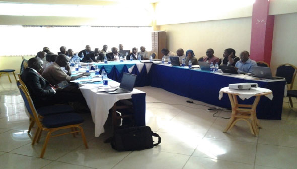 Water Service Trust Fund county inception workshop at Creadex Hotel, Migori town